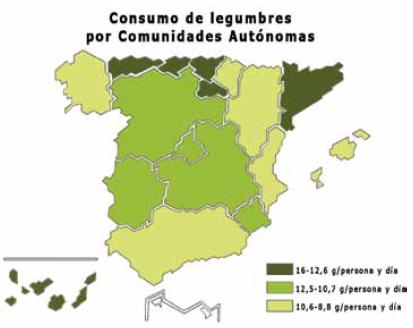 Mapa Legumbre